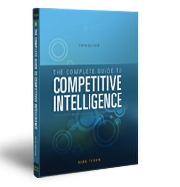 Competitive intelligence book by Kirk Tyson