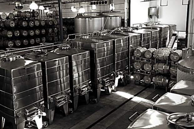 Wine Foundry Tank Farm