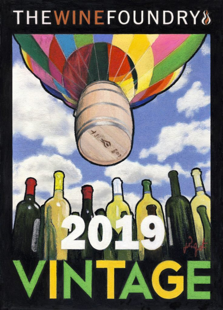 2019 Vineyard Guide Cover Art