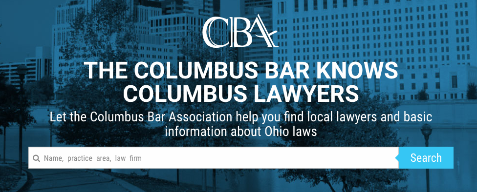 The Columbus Bar Association Offers Directory of Lawyers