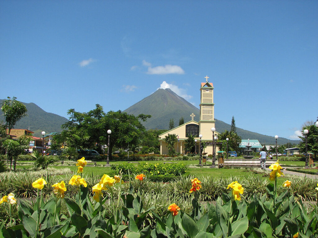 Town Center La Fortuna Costa Rica