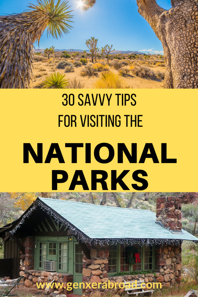 How to plan a trip to the National Parks