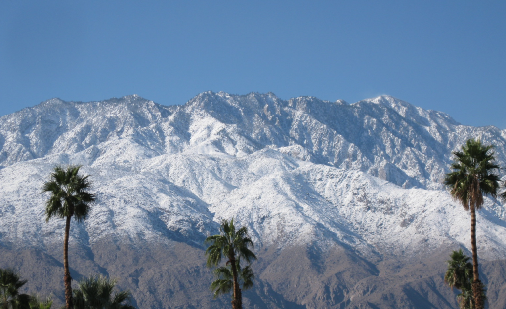 Hot & Cold weekend in Palm Springs