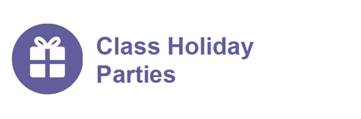 Class Holiday Parties