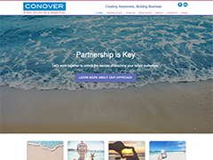 Conover Public Relations website
