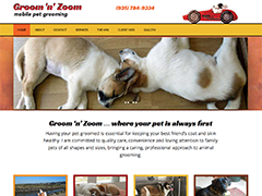 Groom 'n' Zoom website