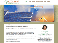 Riddhi IP website