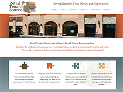 Retail Tenant Source website