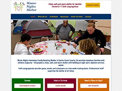 Winter Nights Shelter website