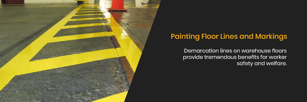 Painting Floor Lines