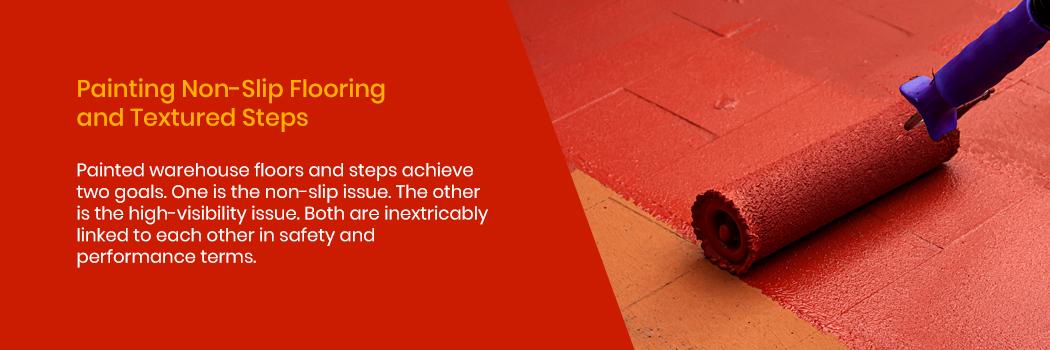 Painting Non-Slip Flooring