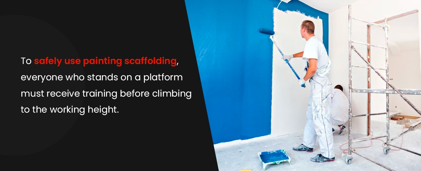 Scaffolding for Commercial Painting