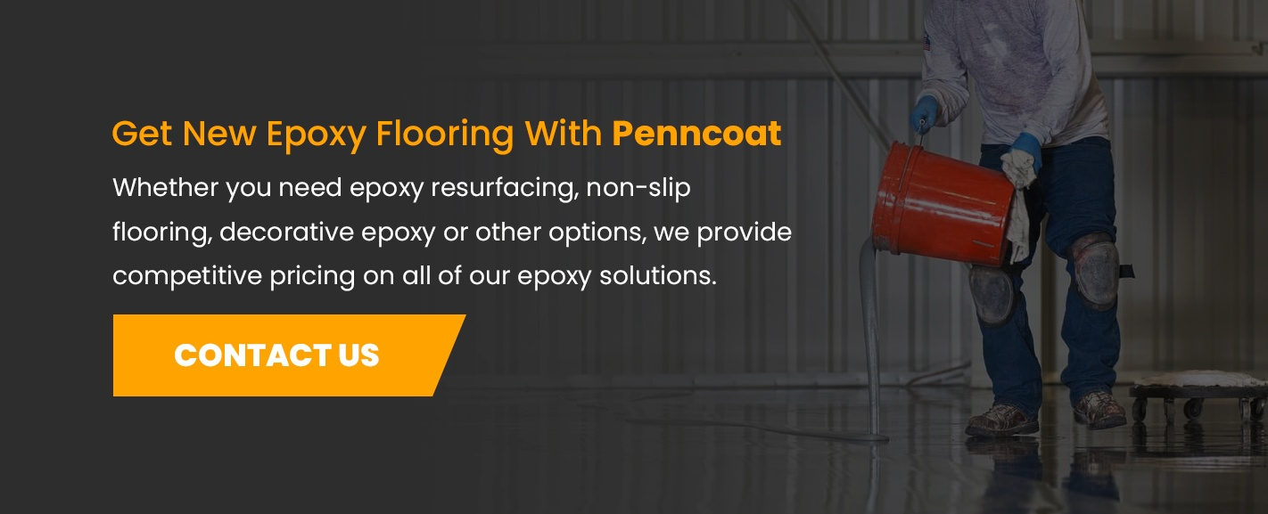 Contact PennCoat for Epoxy Flooring Services