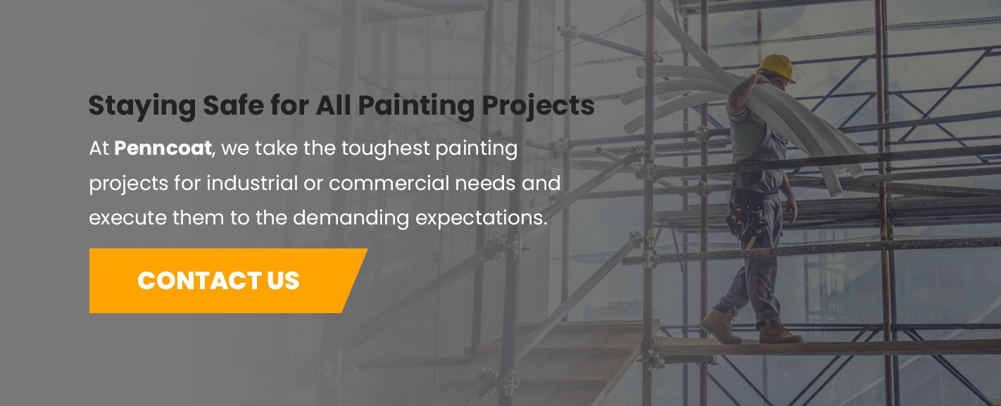 Contact PennCoat for Industrial and Commercial Painting Projects