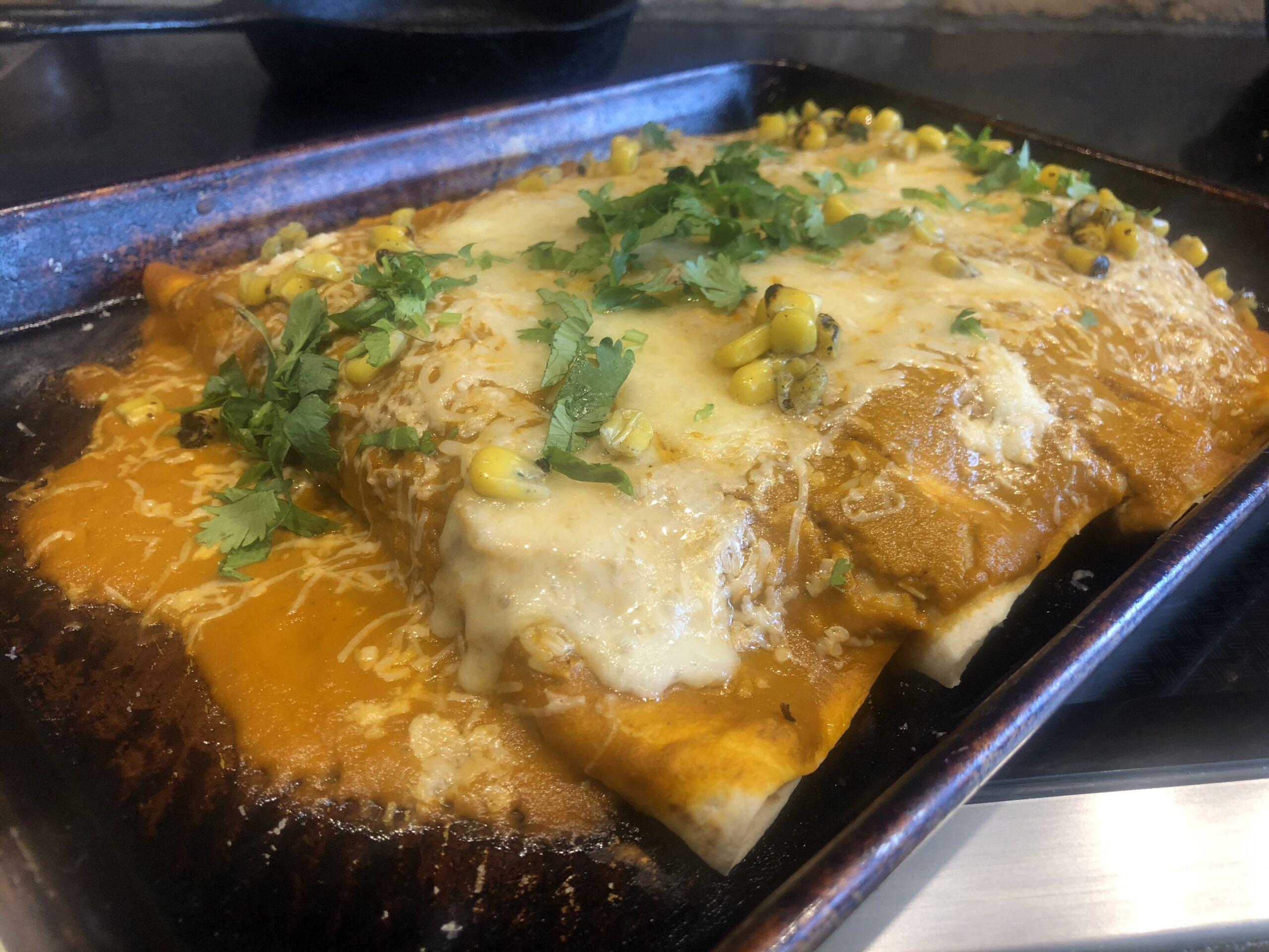 GF Chicken Enchiladas