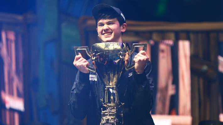 A teenager Fortnite World Cup champion