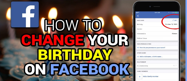 How to facebook birthday changes