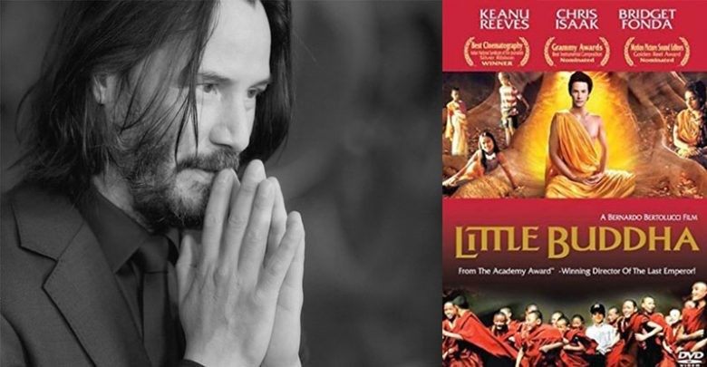 Keanu Reeves, who became a Buddhist