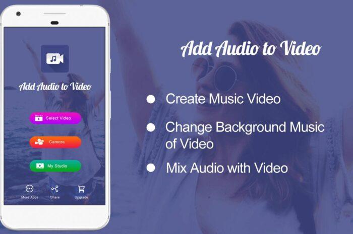 Add Audio to Video : Audio Video Mixer