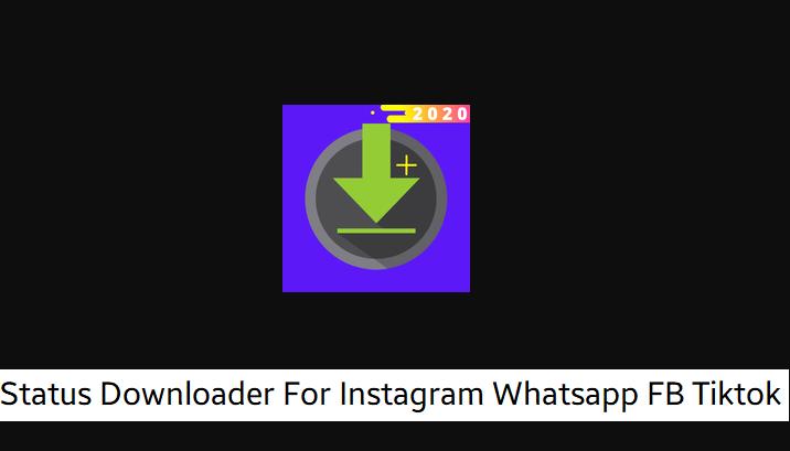 Downloader For Instagram Whatsapp FB Tiktok