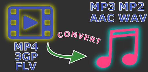 Video to mp3, mp2, aac or wav