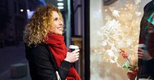 Happy Retail Holiday shopper 2020