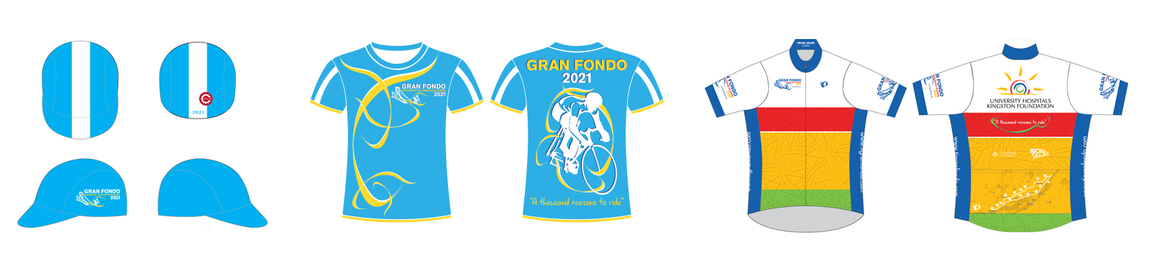Thousand Islands Gran Fondo Challenge Swag