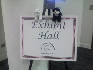 Kimba and Hiro were thrilled to meet so many teachers at our booth in the exhibit hall!