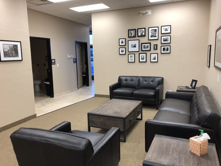 office lounge area