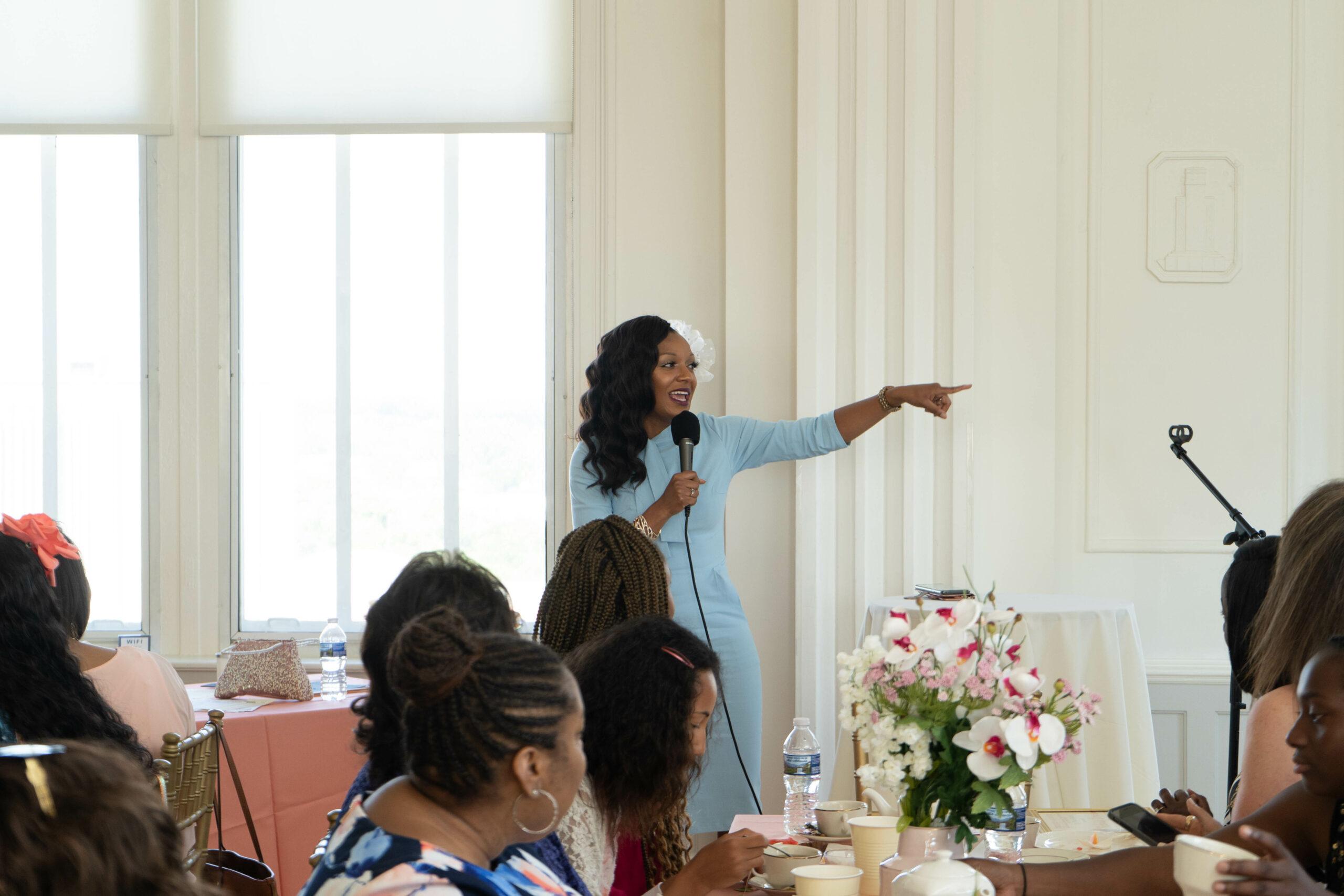 Keynote Speaker at Girl's Academy Mother's Day Brunch