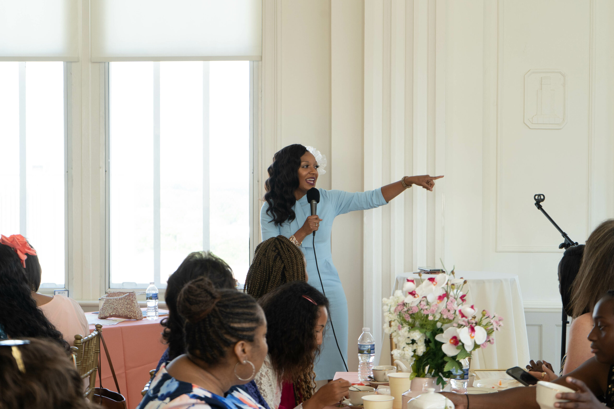 Keynote Speaker at Girl's Academy Mother's Day Brunch