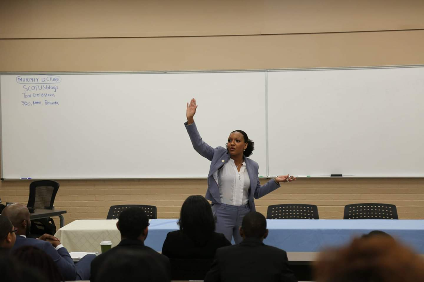 Keynote Speaker at Minorities in the Profession Event