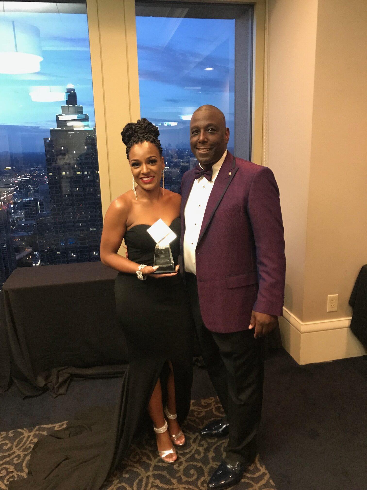 International Trailblazer Award by JABY, Inc. Honoree