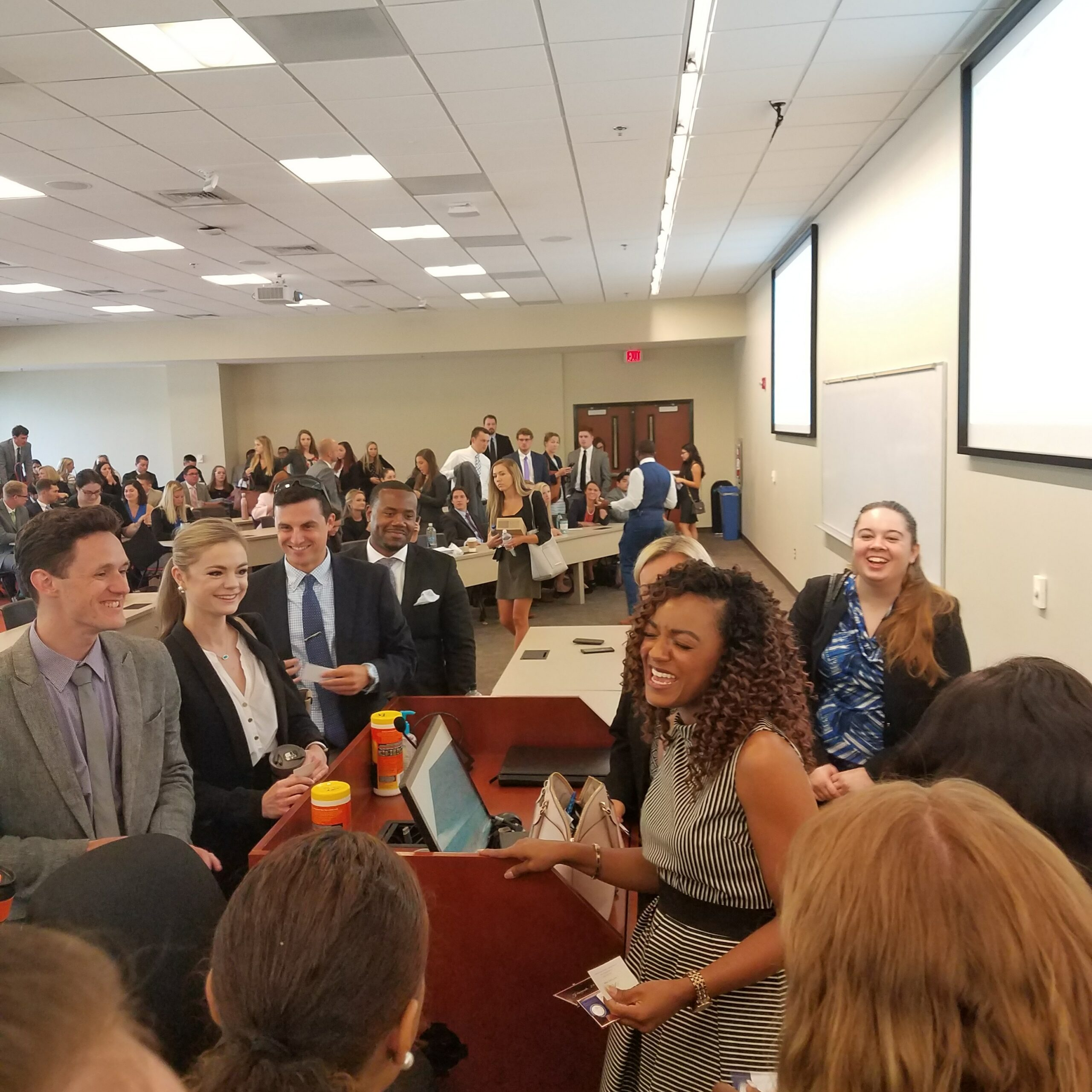 Keynote Speaker for 1L Orientation at Campbell School of Law