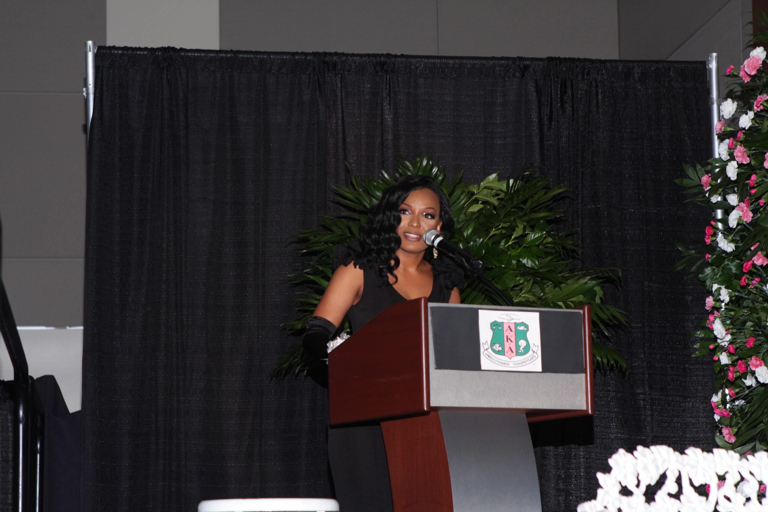 Keynote Speaker for AKA Debutante Ball