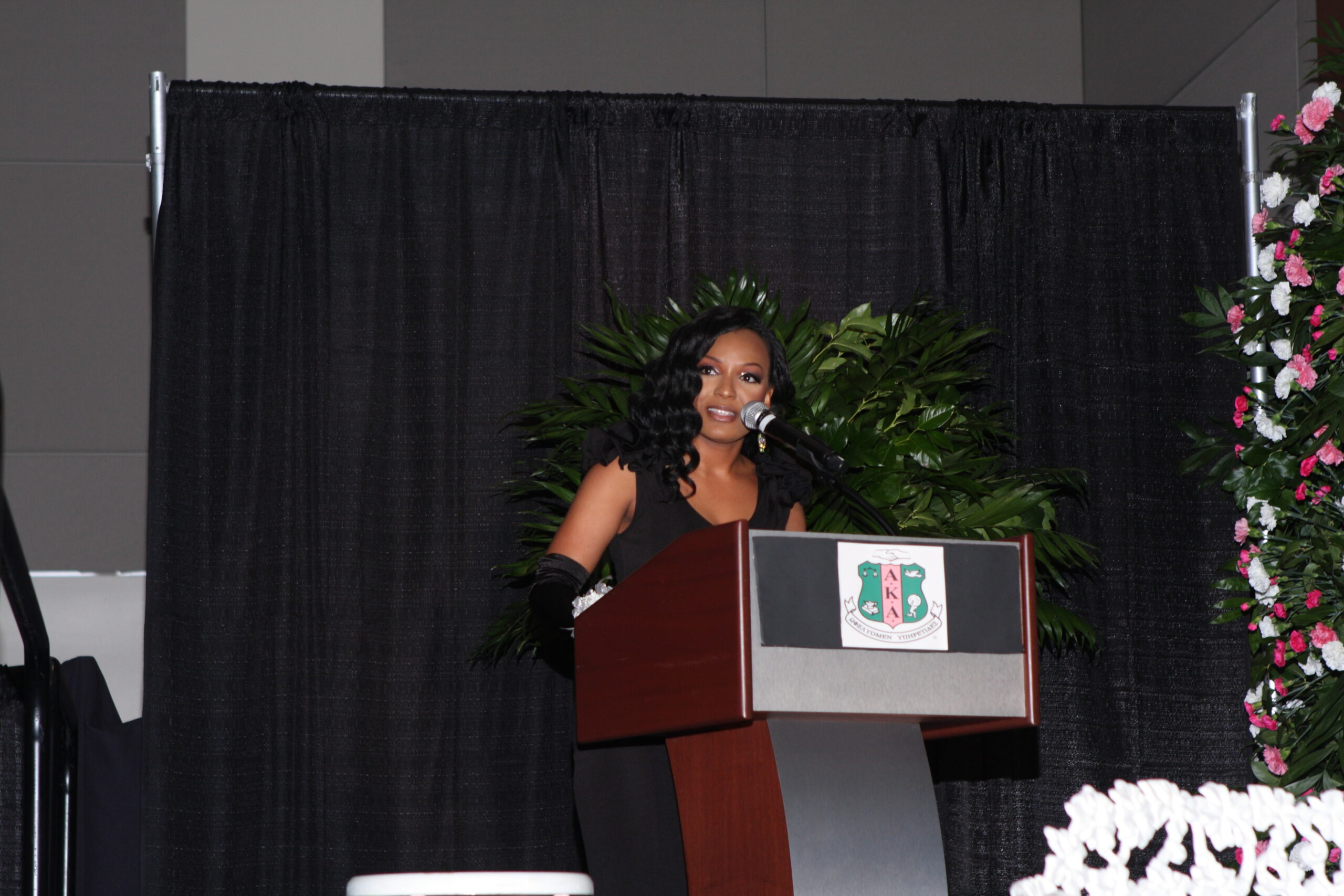 Keynote Speaker for AKA Debutante Ball