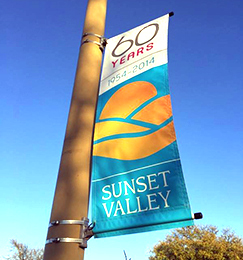 Light Pole Banners