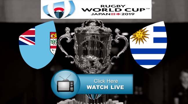 Fiji vs Uruguay Live Stresms RWC