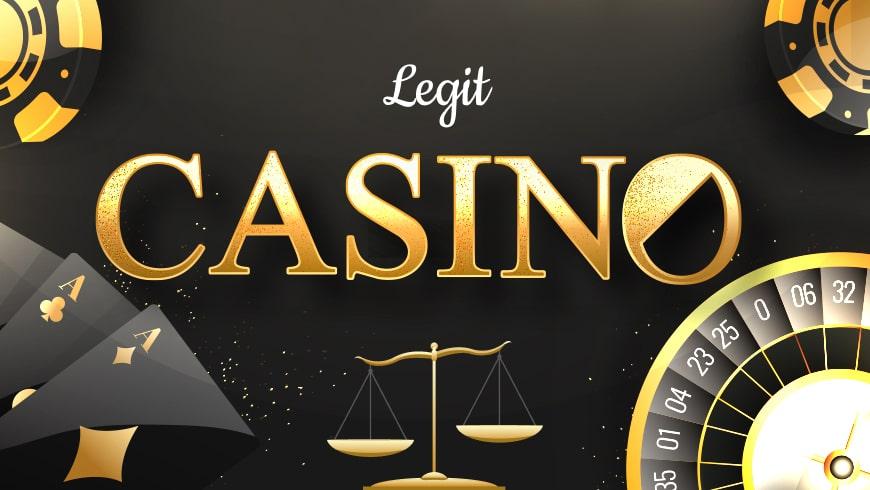 The best legit online casino
