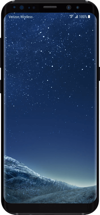 Galaxy S8 front view