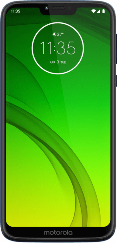 Moto G7 Power (front)