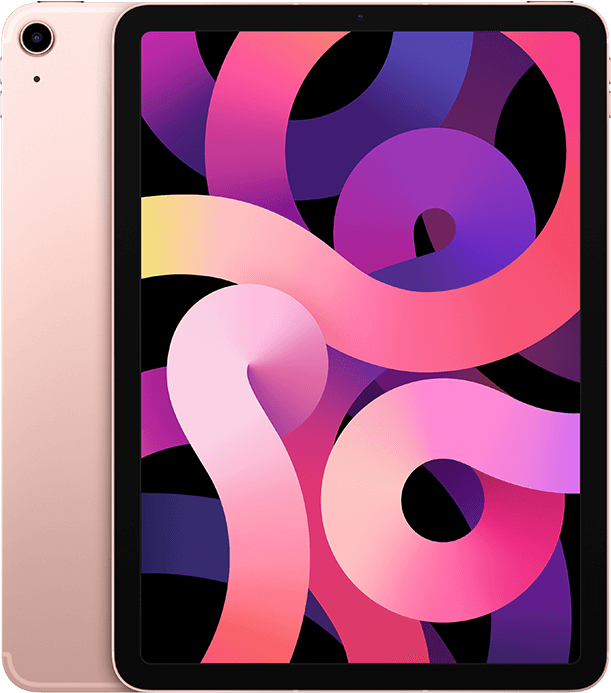iPad Air rose gold