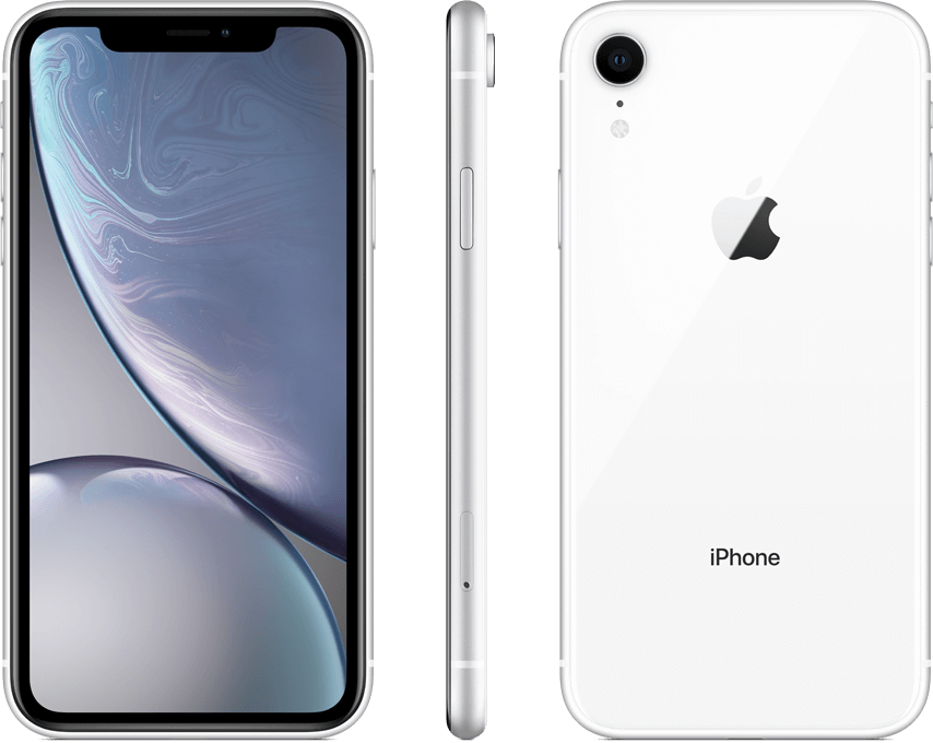 iPhone XR White with Stylus