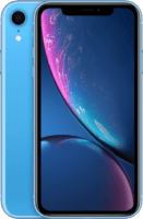 thumbnail of iPhone XR Blue front view