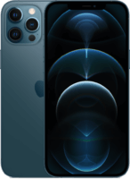 thumbnail of iPhone 12 Pro Max Pacific Blue 2-Up