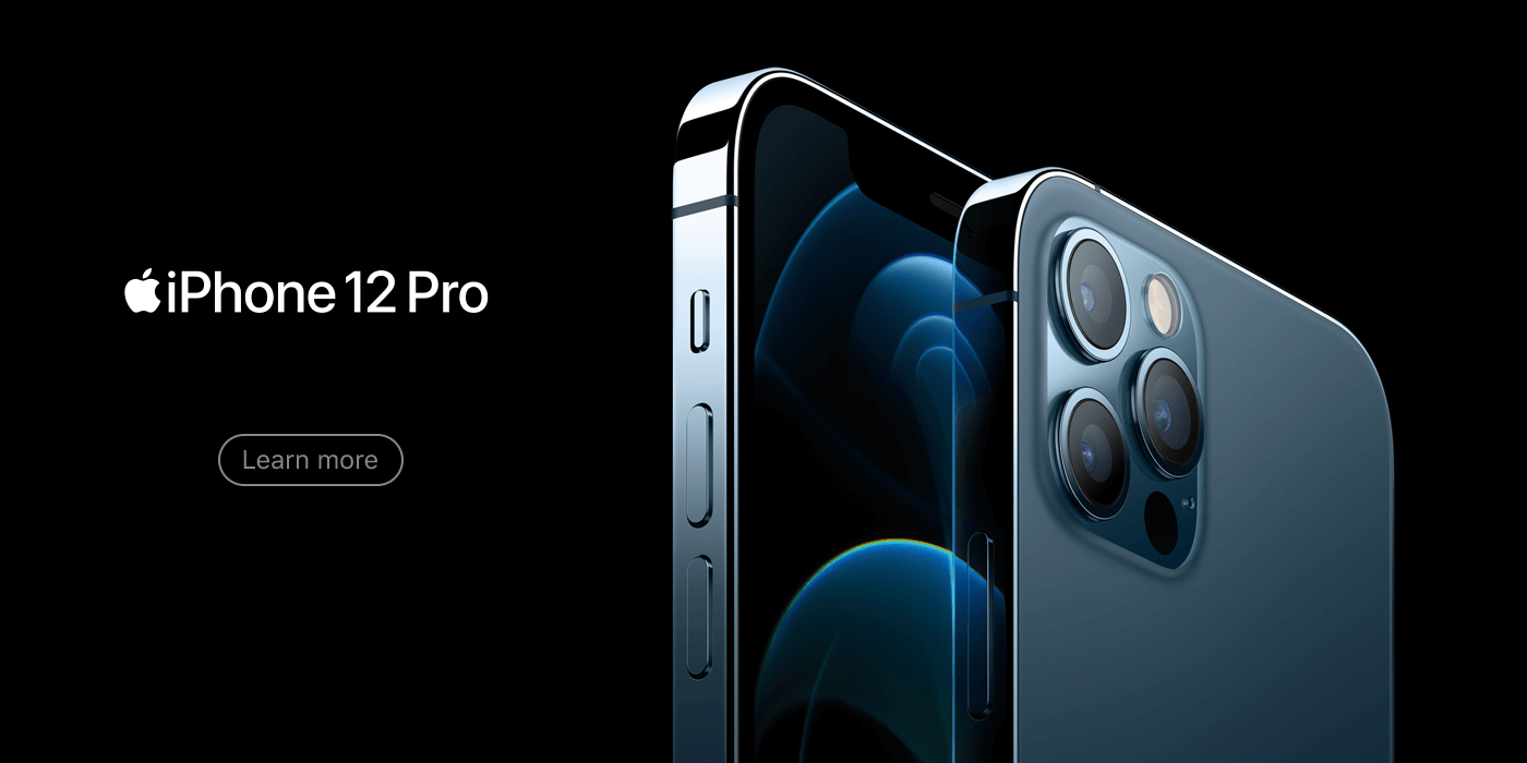 iPhone 12 Pro web banner