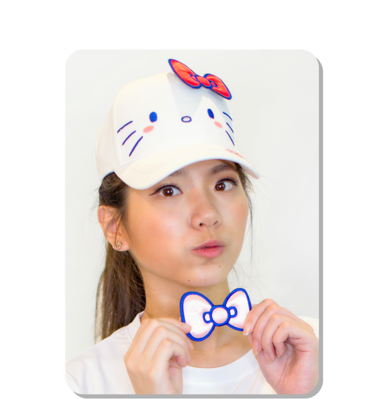 Hello Kitty 造型帽