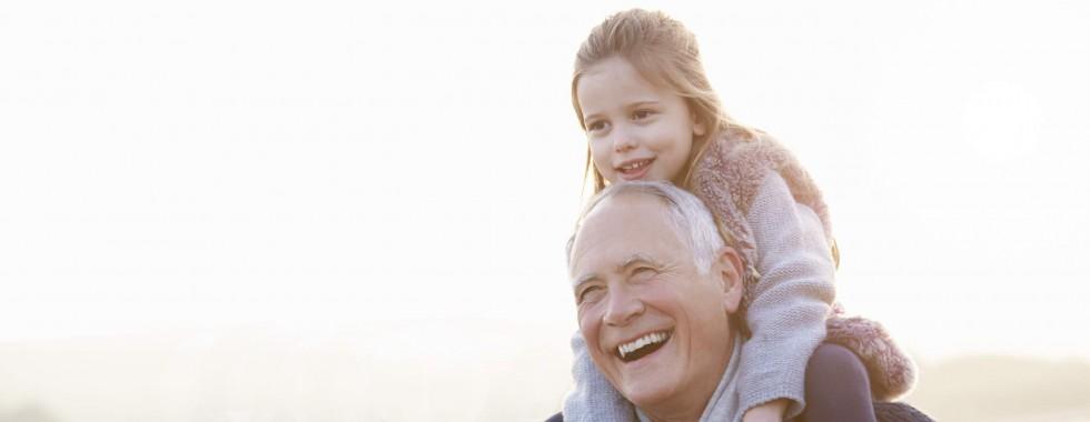Grandparents and Child