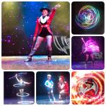 Circular circus show snaps