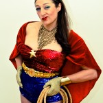 Heidi Hoops as Wonderwoman